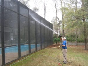 Pool Enclosure Cleaning Tallahassee FL