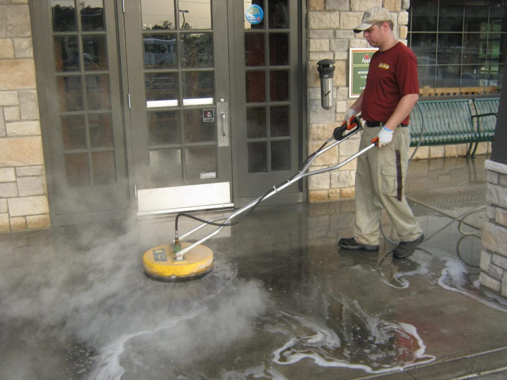 Commercial Pressure Washing Hot Water Pressure Washing