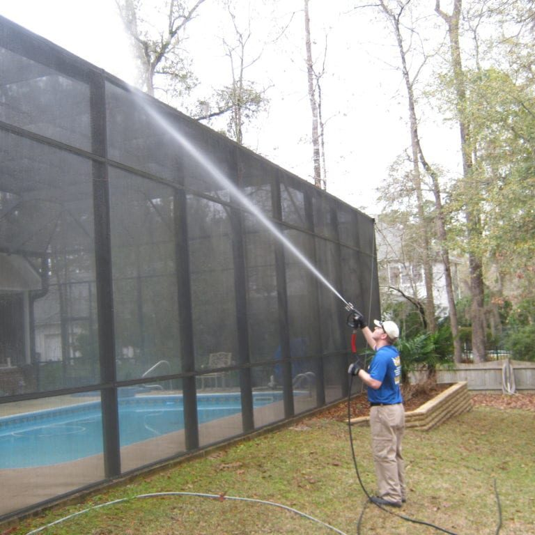 Pool Cage Cleaning Tallahassee FL